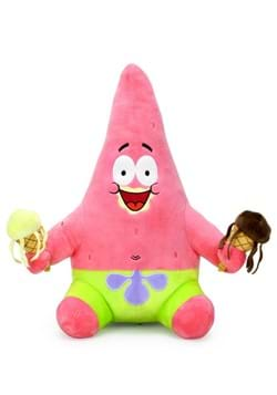 Nickelodeon SpongeBob 16 Inch HugMe Patrick with Ice Cream