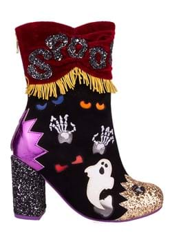Irregular Choice Whos There Light Up Boot Heel