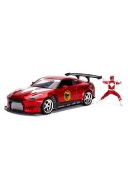 1 24 Scale Power Rangers 09 Nissan GT R w Red Ranger Figure