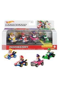 Hot Wheels Mario Kart Die Cast 4 Pack 1