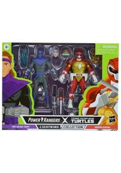 Power Rangers X TMNT Foot Soldier and Red Ranger Figures