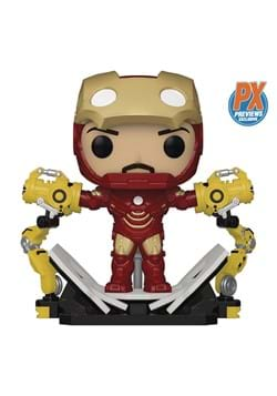 Funko POP! Iron Man MKIV w/Gantry PX GID Deluxe Figure