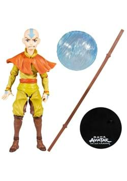 Avatar The Last Airbender Wave 1 Aang 7-Inch Action Figure