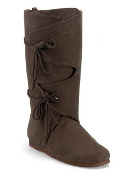 Adult Brown Renaissance Boots