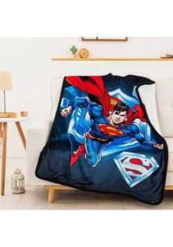 Superman to the Rescue Sherpa Blanket