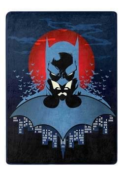 "Batman Anti Hero 46""x60"" Silk Throw"