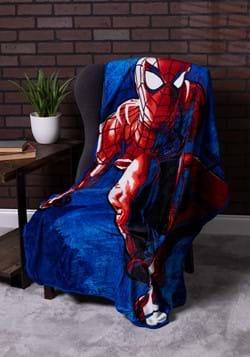 Spider Man Spidey Splash 46 x 60 Silk Touch Throw