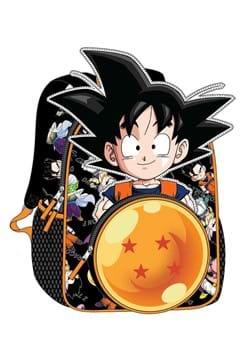 Dragon Ball Z Goku Character Die Cut Kids Backpack