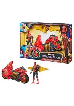 Spider-Man No Way Home 6 Inch Jet Web Cycle Vehicle