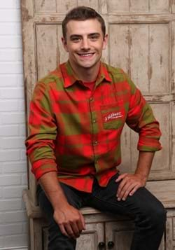 Nightmare on Elm Street Flannel Adult Long Sleeve Shirt-0
