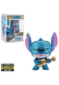Lilo & Stitch Stitch with Ukulele Diamond Glitter