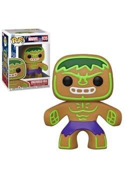 POP Marvel: Holiday- Gingerbread Hulk