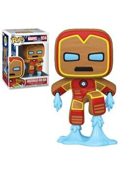POP Marvel: Holiday- Gingerbread Iron Man