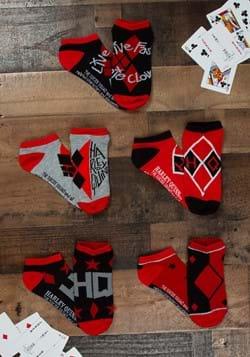 Suicide Squad Harley Quinn 5 Pack Ankle Socks