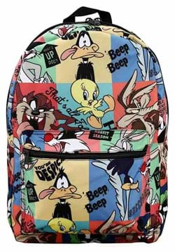 LOONEY TUNES CLASSIC CHARACTERS AOP BACKPACK