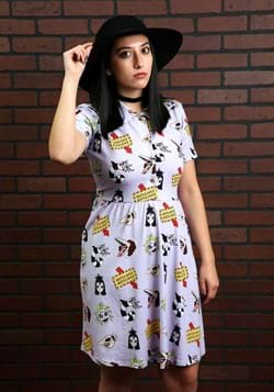 Cakeworthy Beetlejuice Button Up Dress