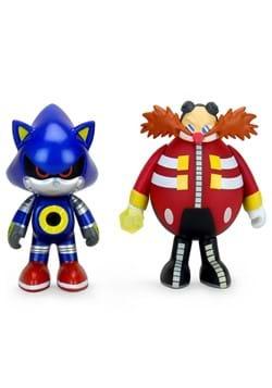 """Sonic the Hedgehog 3"""" Vinyl 2-Pack Dr. Robotnik &"""