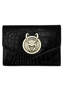 Marvel Loki Badge Textured Bi Fold Wallet