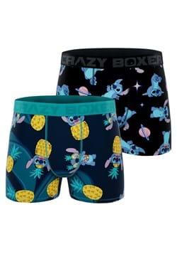Men's Stitch + Pineapple 2 Pack Boxer Briefs
