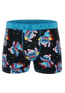 Disney Lilo and Stitch Christmas Boxer Briefs for Men