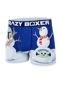 Men's Mandalorian Snowmen Boxer Briefs