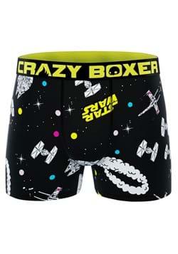 Men's Crazy Boxer Star Wars Spaceships Boxer Briefs