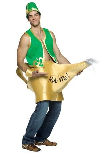 Genie and Magic Lamp Adult Costume