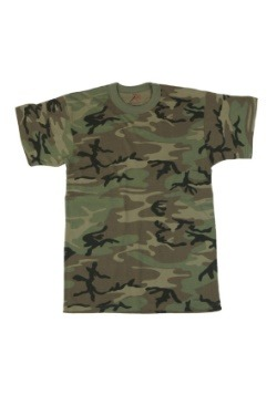 Woodland Camo Vintage T-Shirt