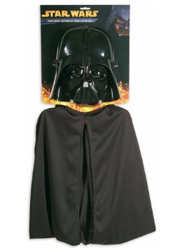 Childs Star Wars Darth Vader Mask & Cape Set