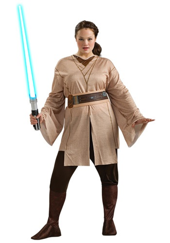 Women's Plus Size Star Wars Jedi Costume