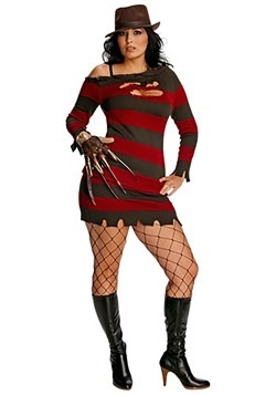 Women's Plus Size Miss Krueger Costume