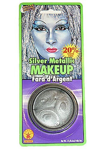 Silver Metallic Makeup Set