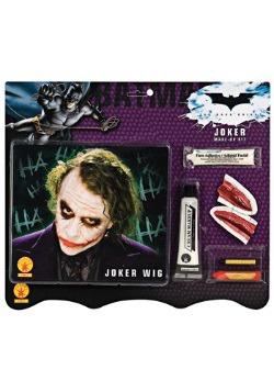 Joker Wig and Makeup Set
