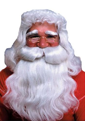 Wavy Santa Beard and Wig