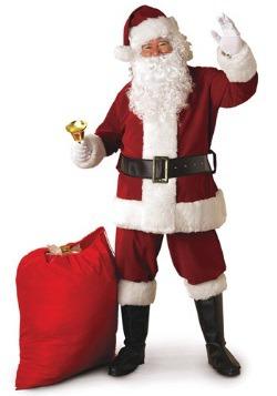 Regal Santa Suit Costume