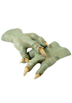 Yoda Latex Deluxe Hands