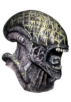 Men's Deluxe Latex Alien Mask