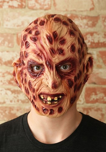 Vinyl Scary Freddy Krueger Mask