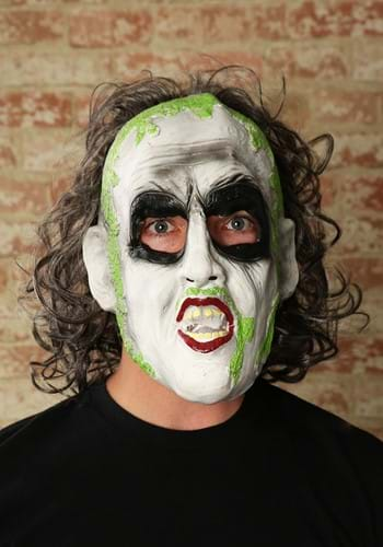 Vinyl Beetlejuice 3/4 Mask w/Hair