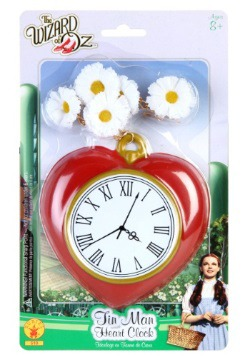 Tin Woodsman Heart Clock