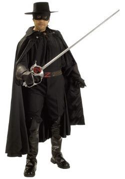 Zorro Authentic Men's Costume