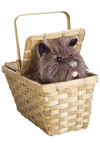 Wizard of Oz Deluxe Toto in Basket