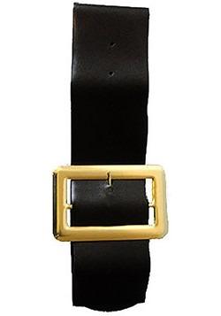 Vinyl Belt w/ Gold Buckle