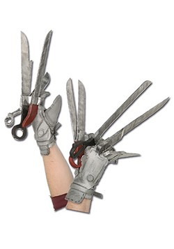 Adult Licensed Edward Scissorhands Gloves