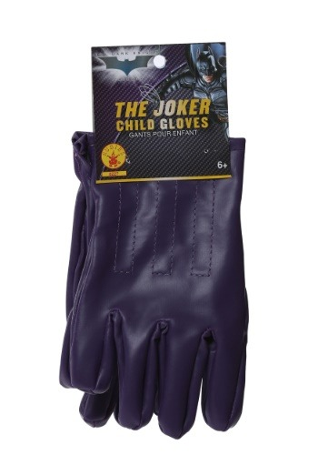 Child Purple Joker Gloves
