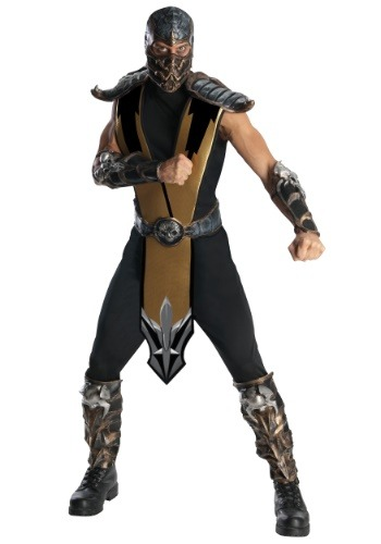 Scorpion Mortal Kombat Mens Costume