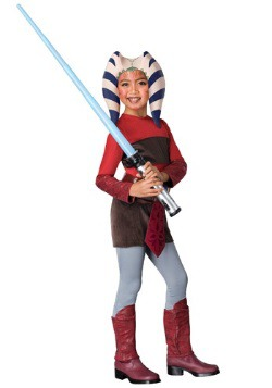 Kids Star Wars Ahsoka Tano Costume
