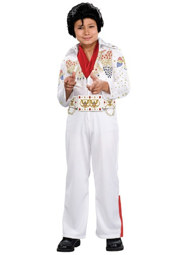 Deluxe Child Elvis Costume For Toddlers