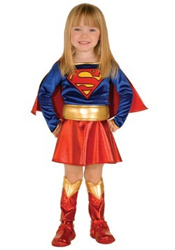 Toddler Girl Supergirl Costume