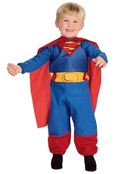 Toddler and Infant Superman with Cape Costume